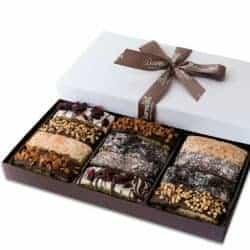 cool gifts - Barnett's Gourmet Chocolate Biscotti Gift Basket
