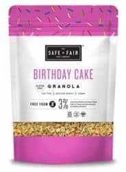 Birthday Cake Granola