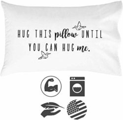 Hug This Pillow Until You Can Hug Me