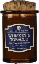 cool gifts - Northern Lights Candles Whiskey and Tobacco Spirit Candle