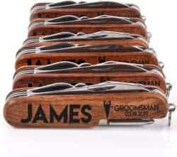 cool gifts - Personalized Pocket Knife