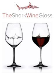 cool gifts - The 3d Shark Wine Glass Crystal