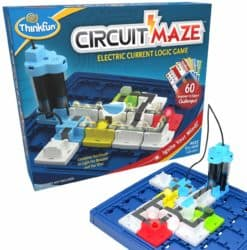 cool gifts - ThinkFun Circuit Maze Electric Current Brain Game and STEM Toy