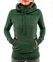 cool gifts - Women's Funnel Neck Hoodie Lightweight