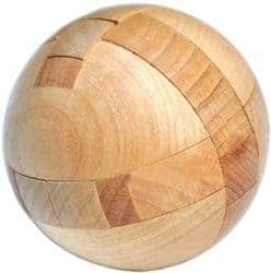 cool gifts - Wooden Puzzle Magic Ball Brain Teasers