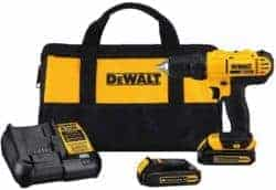 cool gifts for guys - DeWalt Compact Drill Driver Kit