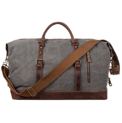 cool gifts for guys - Overnight Canvas Duffel Bag