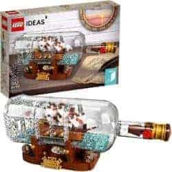 cute gifts - LEGO Ideas Ship in a Bottle