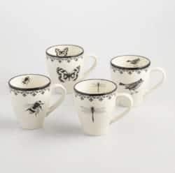 cute gifts - Letterpress Mugs