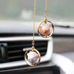 cute gifts - Lucky Cat Car Charm
