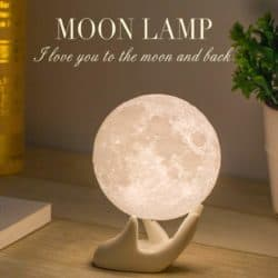 cute gifts - Moon Lamp