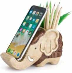 Pencil Holder with Phone Stand