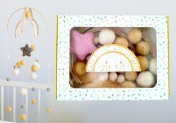 diy gifts - Baby Crib Mobile DIY kit