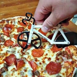 funny gifts for men - Bicycle Pizza Cutter