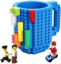 funny gifts for men - Build-on Brick Mug