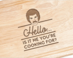 funny gifts for men - Engraved Hello Is It Me You re Cooking For