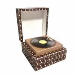funny gifts for men - Favor Box Vintage Retro Gramaphone