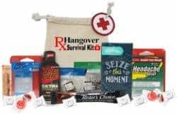 funny gifts for men - Fully Loaded Hangover Kit