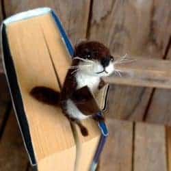 funny gifts for men - Funny otter bookmark