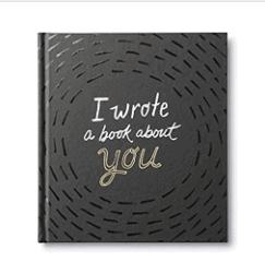funny gifts for men - I Wrote a Book About You A fun, fill-in-the-blank book