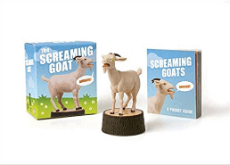funny gifts for men - The Screaming Goat (Book & Figure)