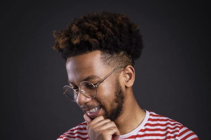 Mens Modern Fade Haircut - Afro fade Haircut.jpeg