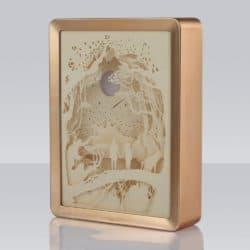 unique gift - 3D Papercut Light Boxes Frame Night Lights