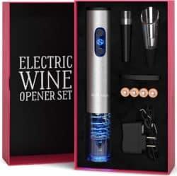 unique gift - Electric Wine Opener Set
