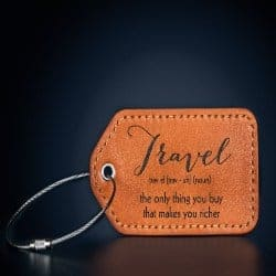 Leather Luggage Tags (1)