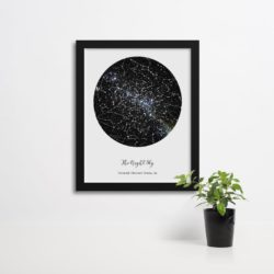 unique gifts - Custom Constellation Map Poster