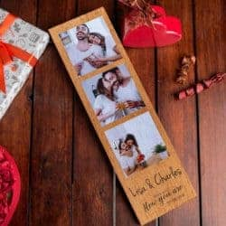 unique gifts - Wood Photo Frame Gift