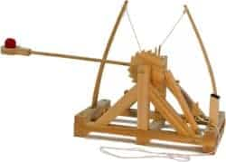 unique gifts for men - Leonardo da Vinci Catapult Kit