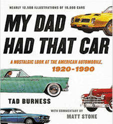 unique gifts for men - My Dad Had That Car A Nostalgic Look at the American Automobile
