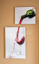 unique gifts for men - Wine Art Print
