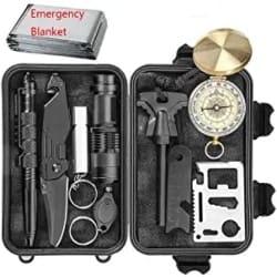 CHANGKU EILIKS Emergency Survival Kits 11 in 1