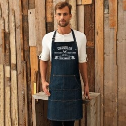 Best Thoughful Gift Ideas - Personalised Denim Apron (1)