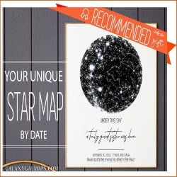 Best Thoughtful Gift Ideas - star map (1)