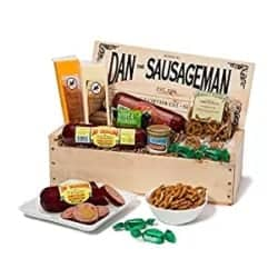 Birthday Gifts For Men - Dan the Sausageman's Mt. Rainier Gourmet Gift Basket