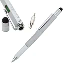 Christmas Gifts for Men - 5 in 1 Engineer Ballpoint with Stylus in Tin Box