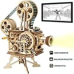 Cool DIY Gifts for Men - ROKR 3D Wooden Puzzle Mechanical Model Kits