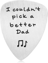 cute gifts for dad - Better Dad Guitar Pick