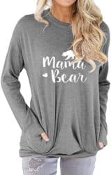 Cute gifts for mom - Mama Bear Shirt