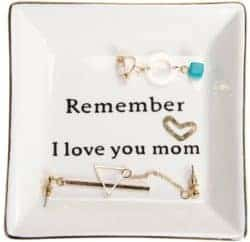 Cute gifts for mom - ring dish