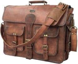 Cute manly gift - Vintage Handmade Leather Messenger Bag