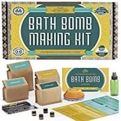 DIY Birthday Gifts for Men - Bath Bomb Kit