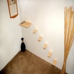 DIY Birthday Gifts for Men - DIY Wall Mount Cat Feeding Station and 5 Cat Steps (1)