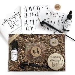 DIY Christmas Gifts for Men 0 Calligraphy Starter Kit (1)