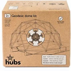 DIY Gifts for Dad - Hubs Geodesic Dome Kit