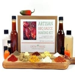 DIY Gifts for Men - Artisan DIY BBQ Sauce Making Kit (1)