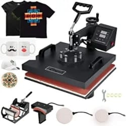 DIY Gifts for Men - Display Heat Press Machine